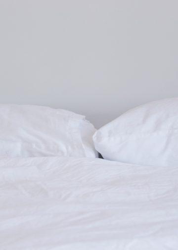 a white mattress